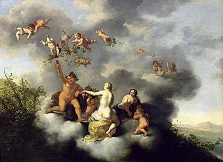 Cérès, Bacchus, Vénus et l'amour