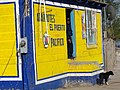 Corner Store with Man and Dog - Santa Rosalia - Baja California Sur - Mexico (23777820270) (2).jpg