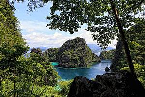 Coron, Palawan - Image: Coron Kayangan Lake