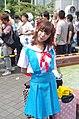Cosplayer of Asuka Langley Soryu at Comic Market 82 20120821 3.jpg