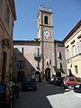 Cossignano Piazza Umberto I e torre del Municipio.jpg
