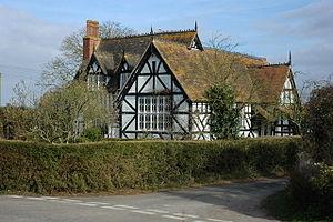 Bushley - Image: Cottage in Bushley