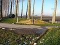 Coupure op kruising Groenestraat Paviljoenweg.jpg