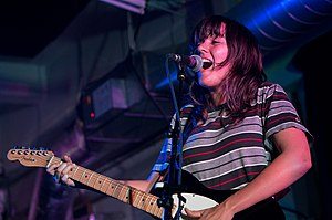 Courtney Barnett - Barnett performing in March 2015