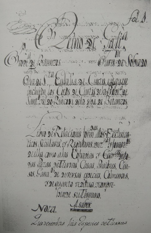 Couto de Curtis na provincia de Santiago