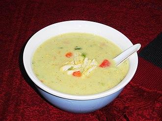 Chicken soup - Cream of Chicken Soup