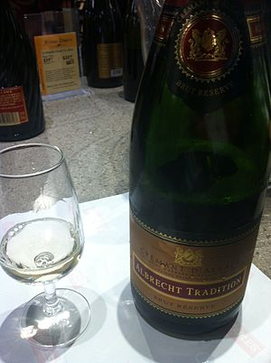Pinot blanc - A Crémant d'Alsace made from Pinot blanc.
