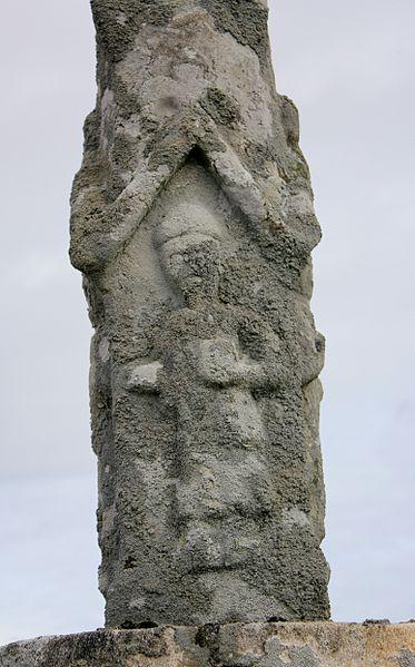 Croix de cimetière (Grand-Champ) : personnage 1