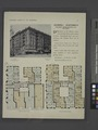 Cromwell Apartments, northwest corner Broadway and 137th Street; Plan of first floor; Plan of upper floors (NYPL b12647274-465559).tiff