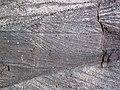 Cross-bedding in quartzite (Baraboo Quartzite, upper Paleoproterozoic, ~1.7 Ga; Tumbled Rocks Trail, Devil's Lake State Park, Wisconsin, USA) 9 (18790625676).jpg