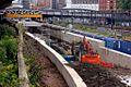 Crossrail Tunnel Royal Oak Portal Construction
