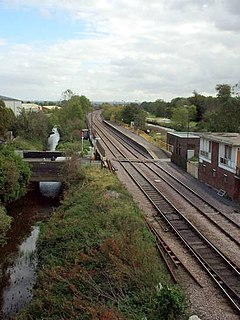 Crowle railway station Railway station in Lincolnshire, England