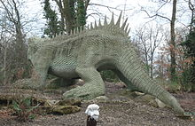 Crystal Palace Model By Benjamin Waterhouse Hawkins Hylaeosaurus