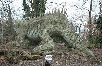 Hylaeosaurus - Crystal Palace model by Benjamin Waterhouse Hawkins