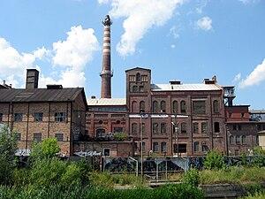 Pruszcz Gdański - The sugar plant in Pruszcz Gdański