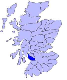 Cunninghame Area of Scotland, comprising the northern part of Ayrshire