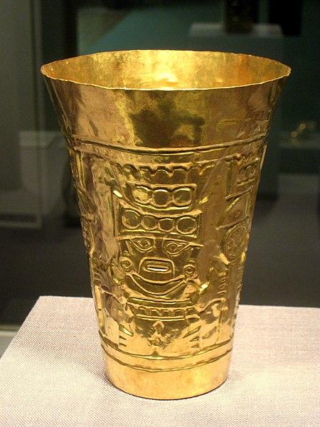 file cup  peru north coast  sican culture  850