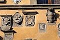 Cutigliano, palazzo dei capitani della montagna, stemmi 14.jpg