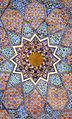 Décor de la mosquée Khodja Akhrar (Samarcande, Ouzbékistan) (5646835369).jpg