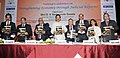 "D.V. Sadananda Gowda releasing the publication at the inauguration of the ""National Conference on Strengthening the Economy through Judicial Reforms"".jpg"