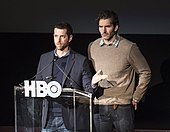 D. B. Weiss and David Benioff in 2013