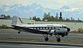 DC-3 landing at ANC May 2011.jpg