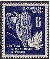 DDR-Briefmarke Frieden 1950 6 Pf.JPG