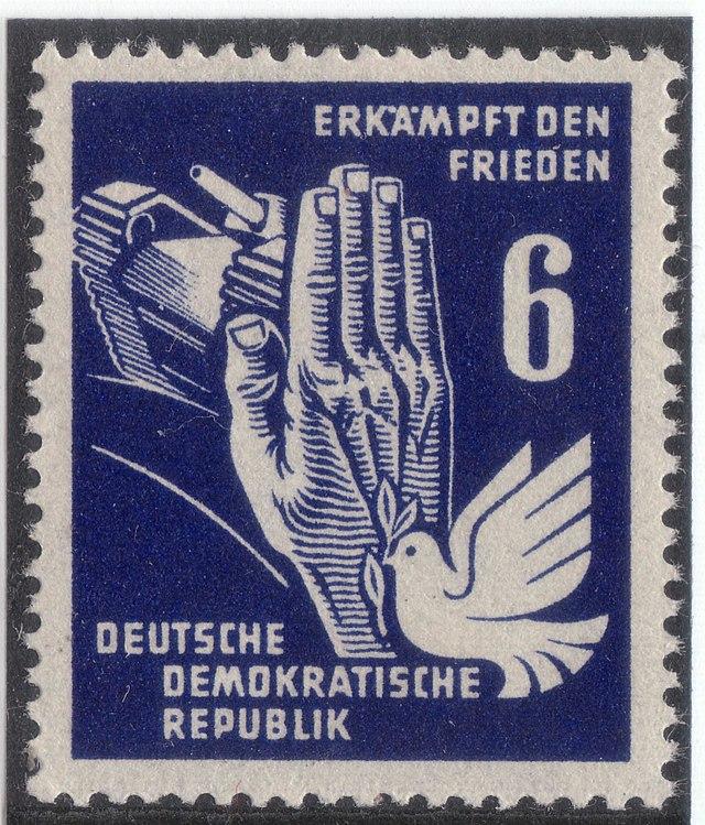 Briefmarken Jahrgang 1950 Der Deutschen Post Der Ddr Wikiwand