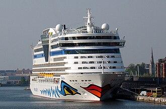 AIDAbella - Image: DEN Copenhagen AID Abella cruise ship in port