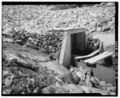 DETAILS OF RUBBLE MASONRY SPILLWAY Drawing No. A-4, 1986 - Twin Lakes Reservoir No.1, Intake and Outlet Structure, Head of Big Goose Creek, Sheridan, Sheridan County, WY HAER WYO,52-SHER.V,2C-3.tif