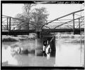 DETAIL VIEW OF CENTER PIER - McGilvray Road Bridge No. 4, Van Loon Wildlife Area, La Crosse, La Crosse County, WI HAER WIS,32-LACR.V,1-C-7.tif