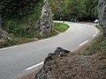 D 93 Luc direction Gap - Claps - Parking via ferrata 2014-10-15.JPG