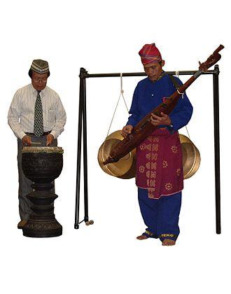 Dabakan - The dabakan used as accompaniment of the kutiyapi