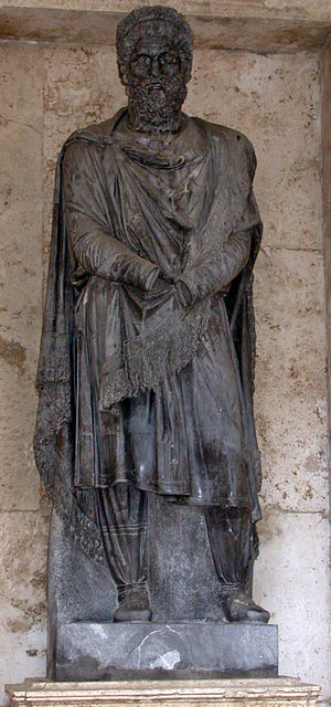 Roman Dacia - Captive Dacian (Capitoline Museums)