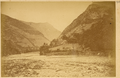 Dahedian Village on the Bank of the Navigable Jialing Jiang (Jianling River). Gansu Province, China, 1875 WDL2085.png