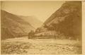 Dahedian Village on the Bank of the Navigable Jialing Jiang (Jianling River). Gansu Province, China, 1875 WDL2085.png