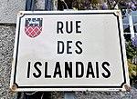 Dahouët (Côtes d'Armor) rue des Islandais