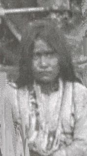 Chiricahua Apache woman warrior