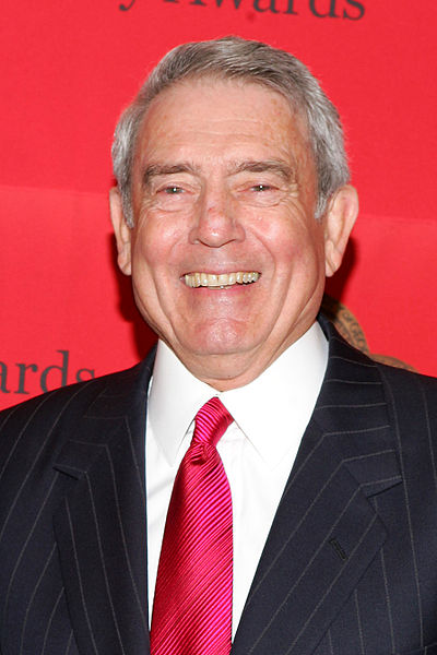 Dan Rather, American broadcast journalist