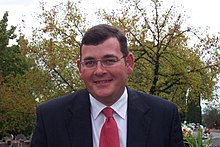 Daniel Andrews in 2009