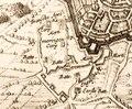 Dankaerts-Historis-9350 - Maastricht map - detail - Brusselsepoort 1632.tiff