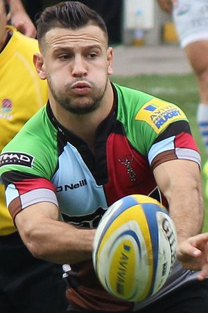 Danny Care - Image: Danny Care (9996941863) (cropped)