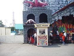 Dante's Inferno, part of Astroland