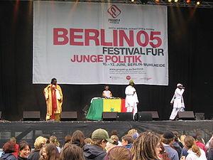 African hip hop - Daara J live in Berlin