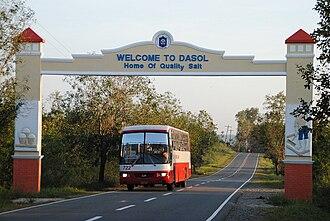 Dasol - Image: Dasol Welcome Marker
