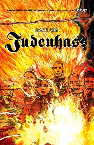 Judenhass (comics) - Cover to Judenhass