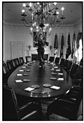 David Hume Kennerly First Lady Betty Ford Dances On The Cabinet Room Table In The White House, Washington D.c., On January 19, 1977.jpg