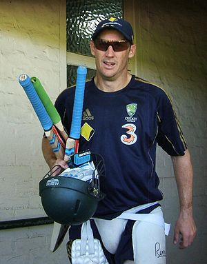 David Hussey - David Hussey with Australia in 2009.