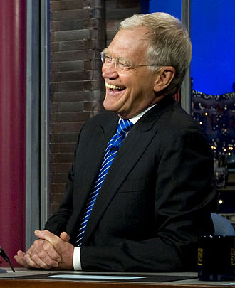 Celebrity - David Letterman, comedian and former American late night talk show host