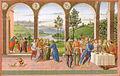 David ghirlandaio (attr.), neemia alla corte di artaserse, bibl ap. vaticana bibbia ms. urb lat 1 f 201r.jpg